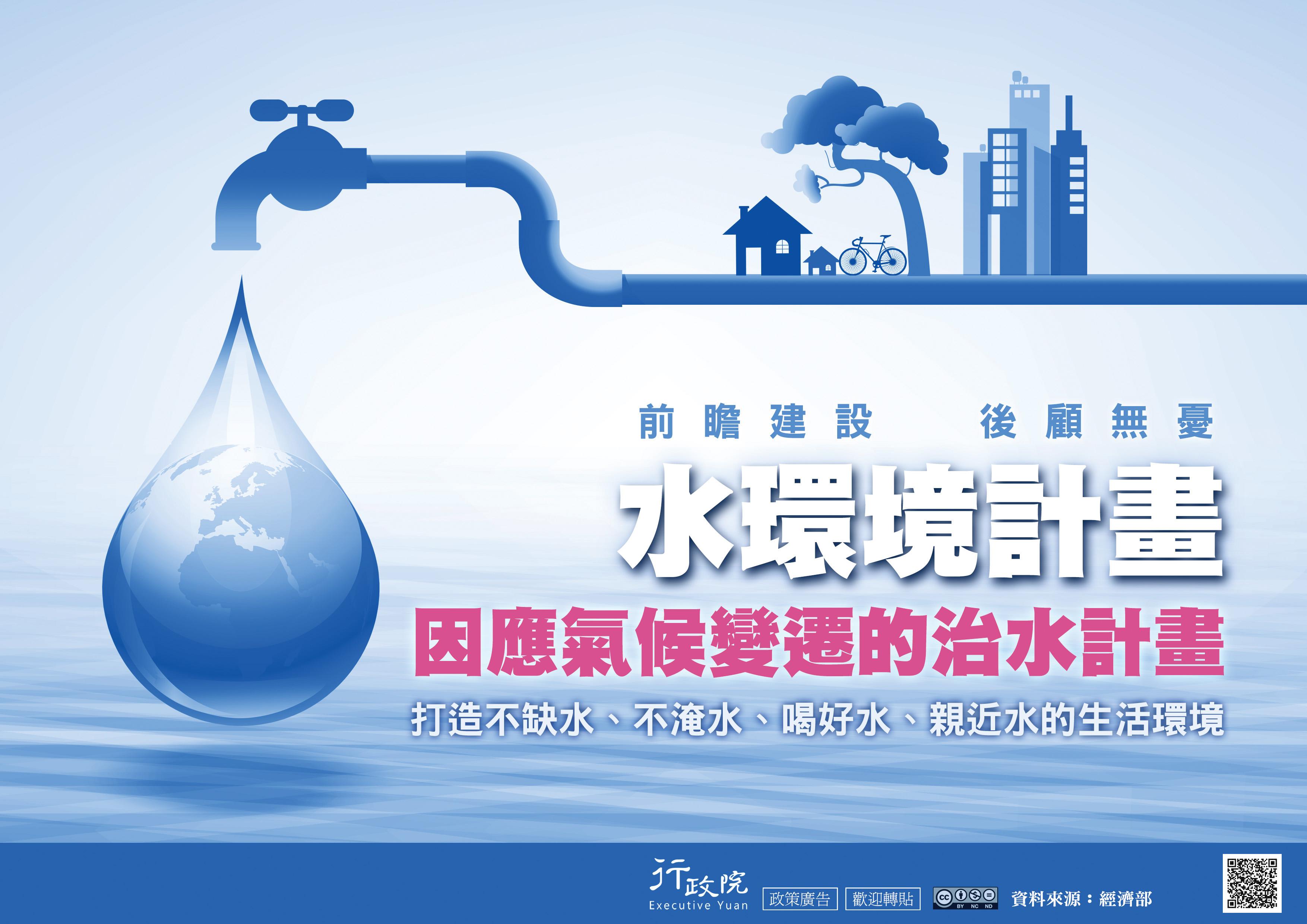 水環境計畫─因應氣候變遷的治水計畫